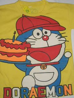 Mousepad Karakter Doraemon eche colection kaos anak karakter kartun