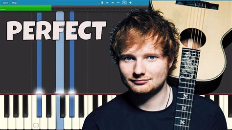 ed sheeran perfect music video youtube ed sheeran perfect piano tutorial youtube