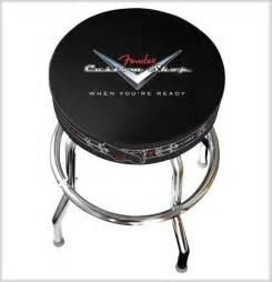 guitar bar stools fender custom shop bar stool 30in pinstripe guitar stool new boxed 30 quot ebay