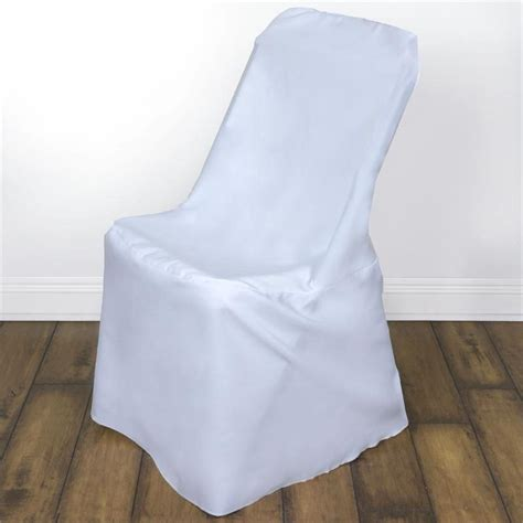 Covers For Folding Chairs by White Lifetime Folding Chair Cover Efavormart