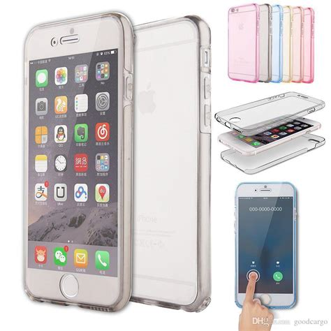 Iphone 7plus 7 Clear 360 Protection for iphone 5s 6 plus 6s shockproof 360 176