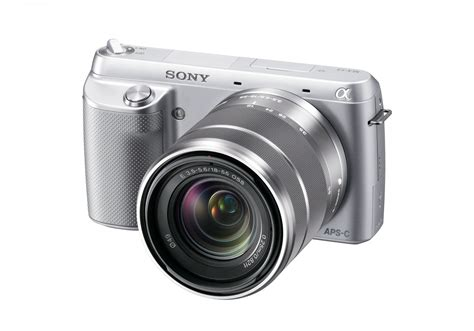 sony new entry level sony alpha nex f3 mirrorless announced