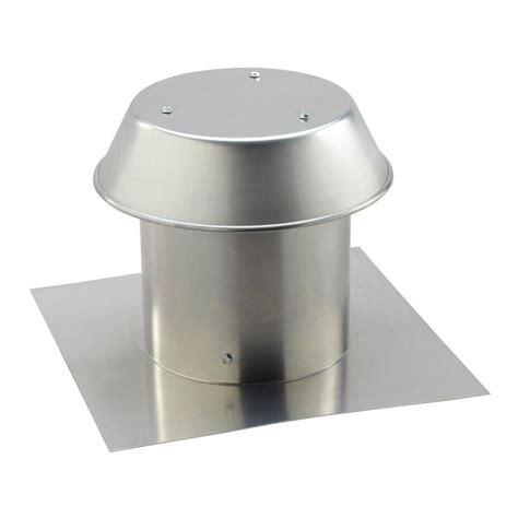 bathroom fan roof cap broan nutone aluminum flat roof cap for 8 in round duct
