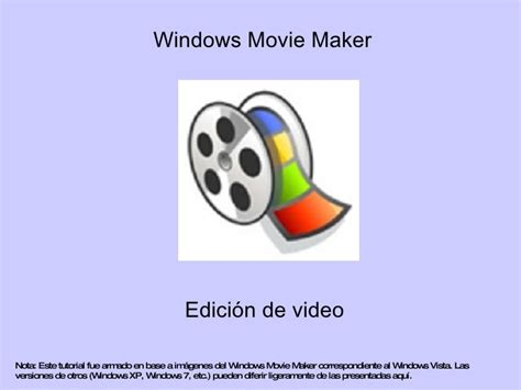 tutorial edição videos windows movie maker tutorial windows movie maker