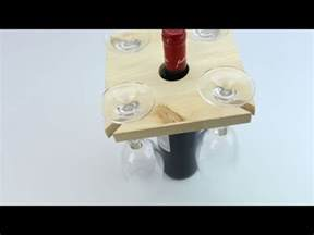 diy wine glass holder youtube