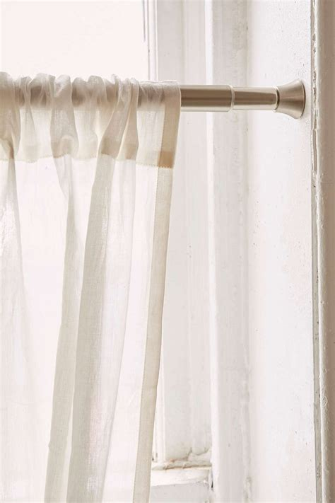 tension rod window treatments 33 best images about custom valances for kitchen dining