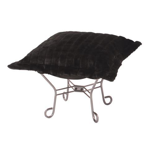 howard elliott ottoman howard elliott puff ottoman mink black