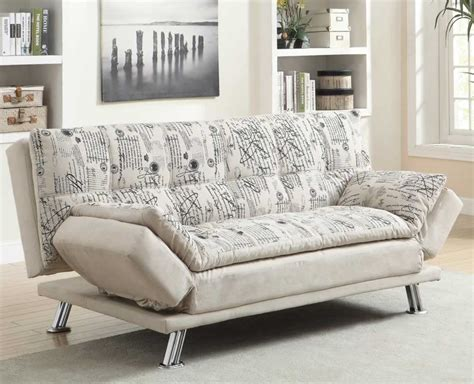 white fabric sofa bed chicago furniture for low priced click sofa bed