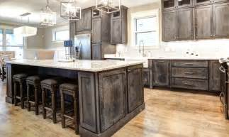 Rustic Cabinets Kitchen Rustic Shaker Gray Kitchen Cabinets We Ship Everywhere Rta Easy