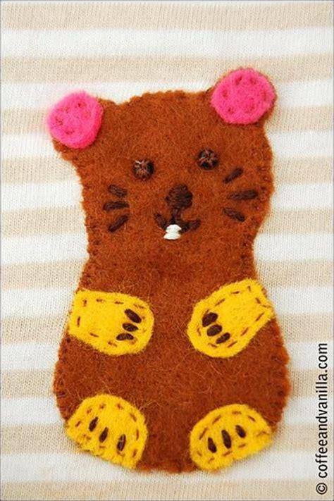 felt hamster pattern hamsters felt and diy and crafts on pinterest