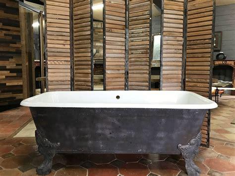 baignoire fonte baignoire ancienne fonte 233 maill 233 baignoire ancienne sur