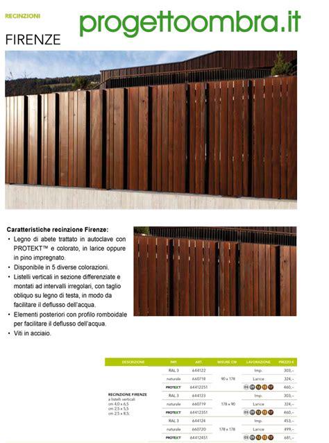 recinzioni in legno per terrazzi gullov bagni vasca e doccia