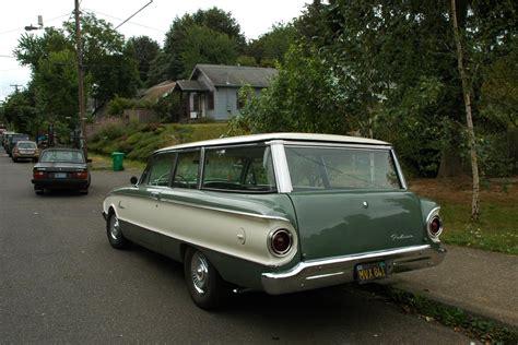 green ford station wagon 1961 ford falcon wagon