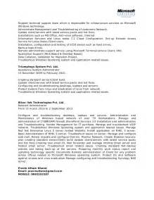 Domino Administrator Cover Letter by Network Systems Administrator Cover Letter