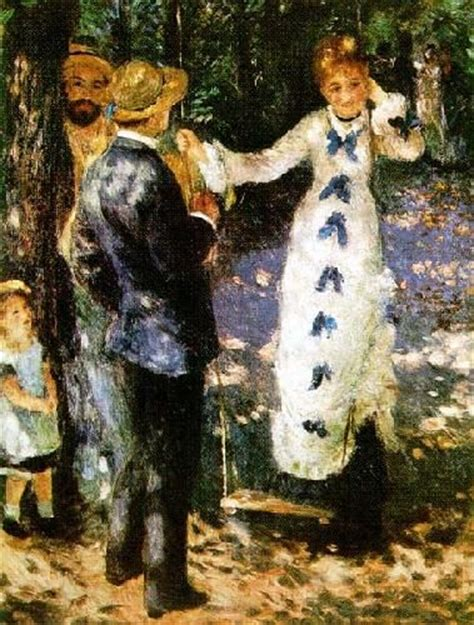 the swing renoir the swing by auguste renoir ohh la la