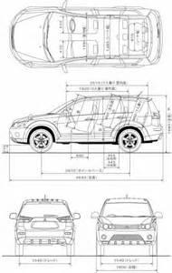 Length Of Mitsubishi Outlander Mitsubishi Outlander 2006