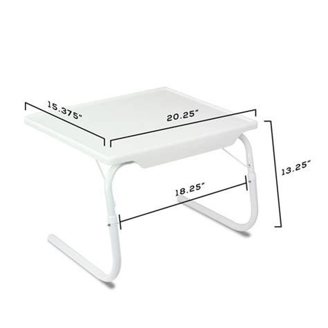 laptop desk tray as seen on tv 1pk white breakfast bed mate portable laptop folding