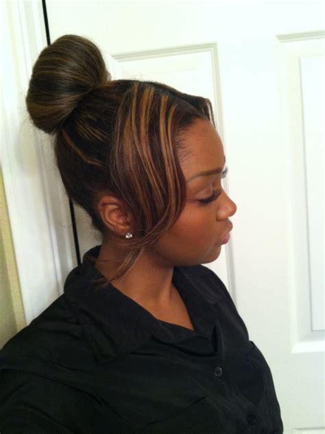 highbun with side bangs 10 high bun hairstyles with bangs dominates fashion world