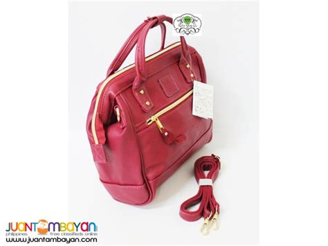 Anello Bag Maroon by Anello Bag Leather Convertible Maroon Bag Mss001l