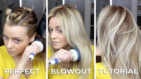 diy salon quality blowout on hair in just 15 minutes