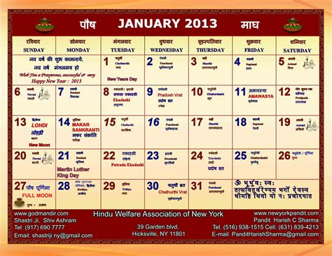 opinions on hindu calendar
