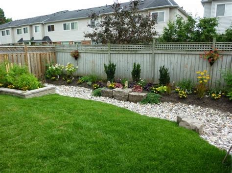 simple backyard landscape ideas 15 stylish garden designs that use stones and rocks