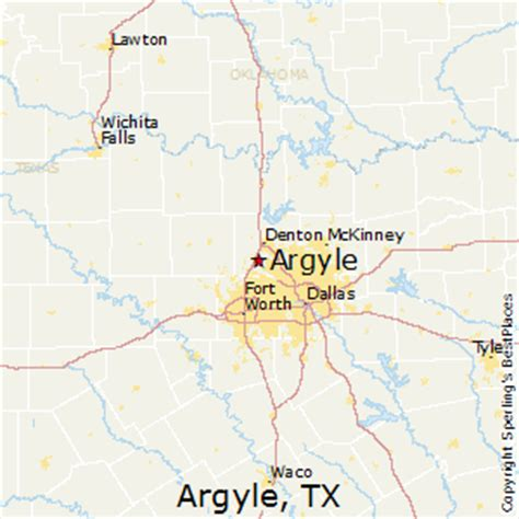 argyle texas map best places to live in argyle texas