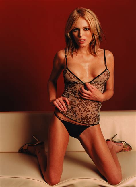 patsy kensit kneeling in camisole and panties female