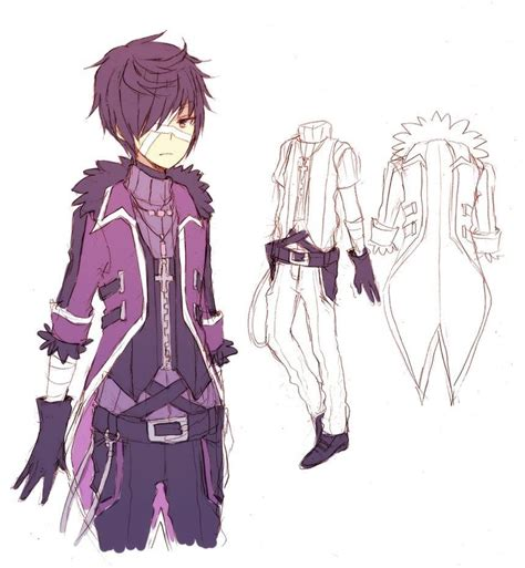 anime boy outfit ideas outfit idea for boys learn to draw all clothes