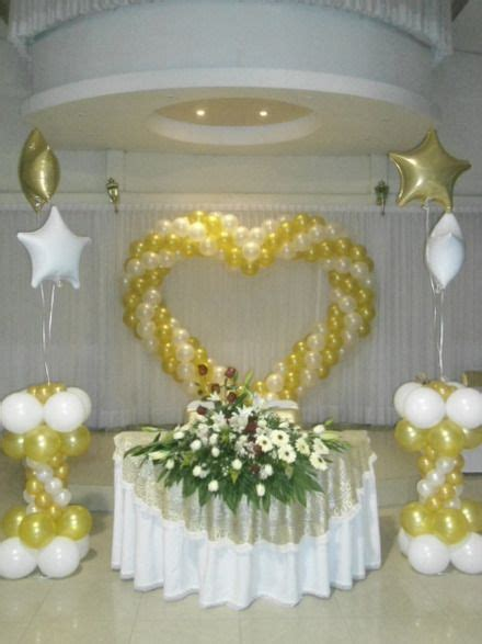 decoracion globos boda decoracion con globos bodas buscar con pinteres