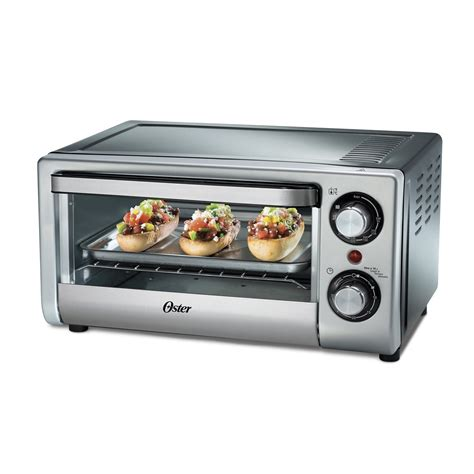 oster kitchen appliances oster tssttv10ltb 4 slice toster oven for 220 240 volt