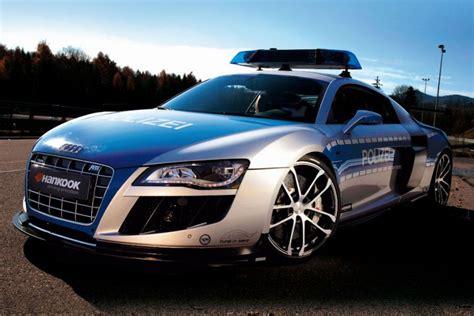 Schnellstes Polizeiauto Der Welt by Abt Audi R8 Gtr Das Schnellste Polizeiauto Der Welt
