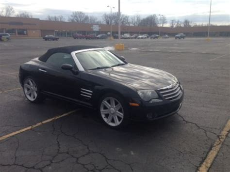how petrol cars work 2006 chrysler crossfire roadster electronic toll collection buy used 2006 chrysler crossfire limited convertible 2 door 3 2l in louisville kentucky united
