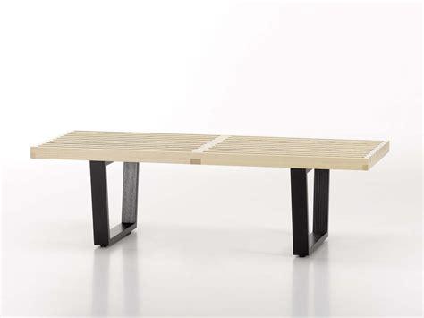 vitra bench buy the vitra nelson bench at nest co uk