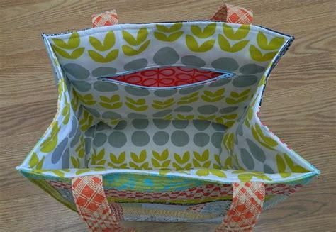 You To See Patchwork Citrus Tote Bag By Lesley Stein - s o t a k handmade traveling handmade