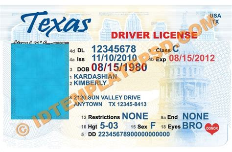 17 Best Images About Novelty Psd Usa Driver License Template On Pinterest A Professional State Id Templates Free