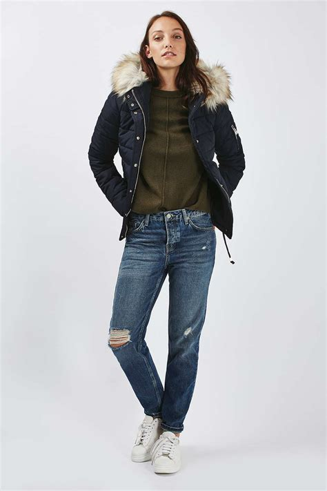 Quilted Puffer Jacket by Quilted Puffer Jacket Topshop Usa
