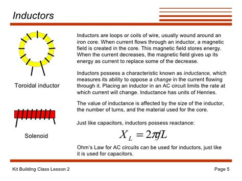 inductors and inductance ppt inductors oppose a change in 28 images inductance lecture 27 inductors stored energy lr
