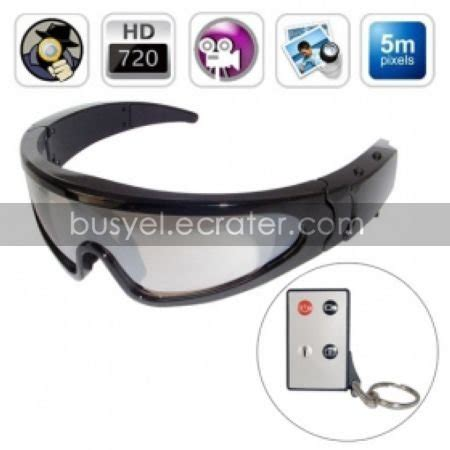 720p hd spy sport glasses digital video recorder with