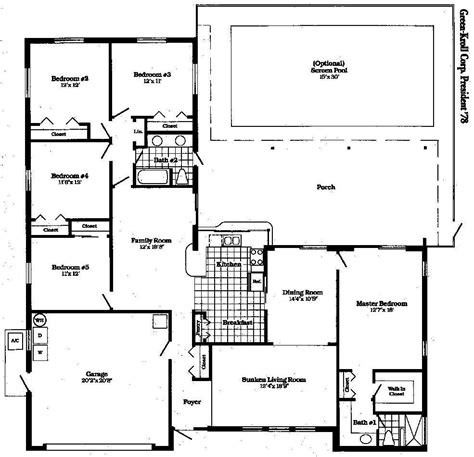door floor plan green kroll