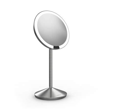 simplehuman 5 inch mini sensor mirror lighted makeup