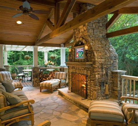 Outdoor Patio With Fireplace by Outdoor Kitchen Fireplace Patio Construction Nashville Tn