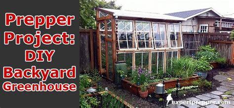 diy backyard greenhouse diy backyard greenhouse expert prepper blog