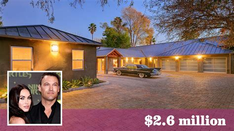 fox house megan fox brian austin green sell bing crosby s carriage house in toluca lake
