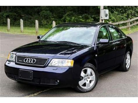 how make cars 2001 audi a6 auto manual sell used 2001 audi a6 quattro twin turbo 2 7t 6spd manual biturbo 2 7l srvc carfax 1 owne in