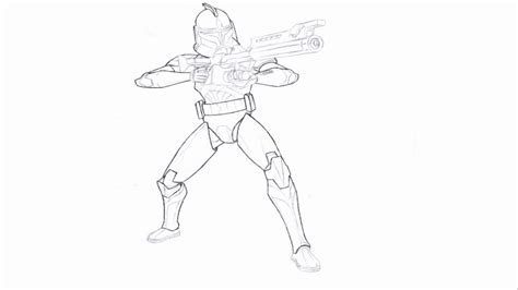 501st Clone Trooper Coloring Pages Coloring Pages Clone Coloring Pages