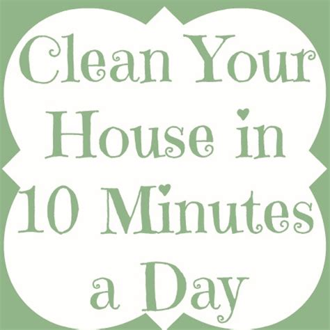 clean your house clean your house in 10 minutes a day bathroom