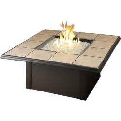 Propane Patio Table Napa Valley Propane Pit Table By Outdoor Greatroom Company Brown Ultimate Patio