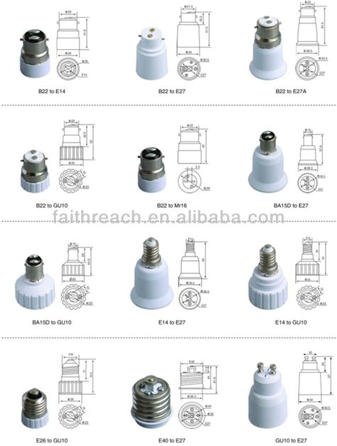 difference between e26 and e27 l base t8 l holder g13 l socket buy t8 l holder g13