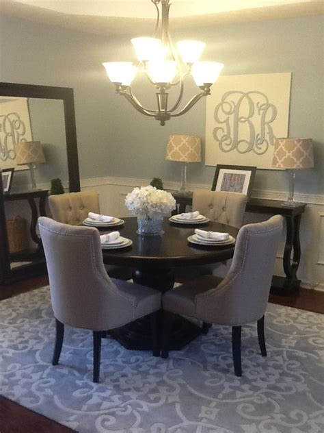 best 25 circular dining table ideas on